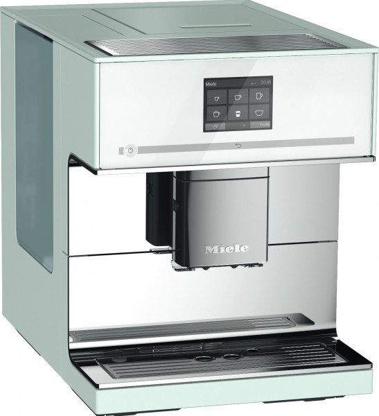 Miele cm7500chbw kaffeemaschine vollautomat bohnen for Miele vollautomat