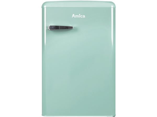 Amica VKS15623M Vollraum Kühlschrank Im Retro Design, 85 Cm Höhe, Fresh Mint