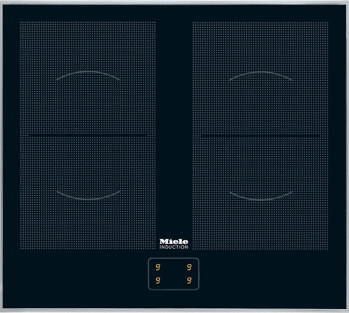 miele km 6093 induktion kochfeld glaskeramik induktion. Black Bedroom Furniture Sets. Home Design Ideas
