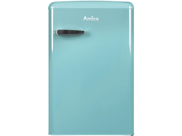 Amica Kühlschrank Made In : Amica vks15622t vollraum kühlschrank im retro design 85 cm höhe